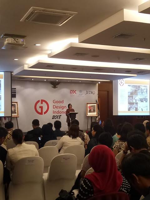 Suasana penyerahan penghargaan GDI 018 di Jakarta