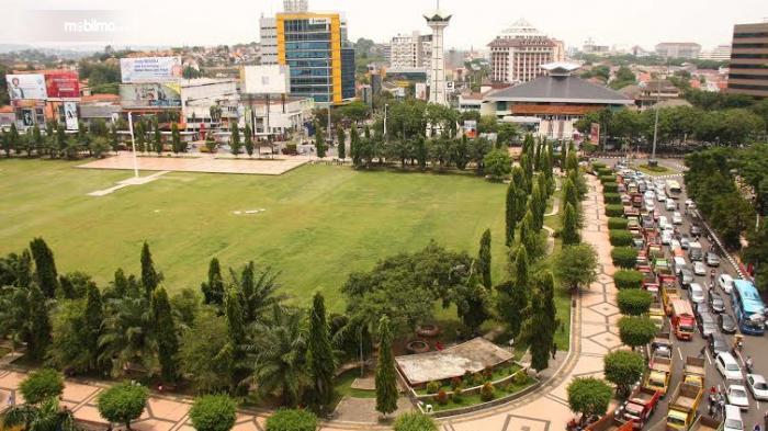 Foto kemacetan Simpanglima Semarang