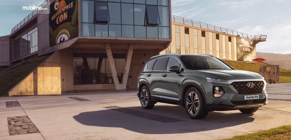 Tampak Depan Terbaru Dari Hyundai New Santa Fe 2018