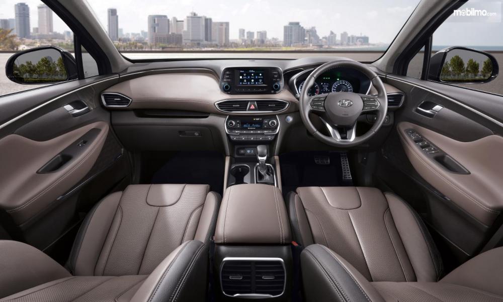 Hyundai New Santa Fe 2018 Memiliki Dashboard Mewah dan Unik