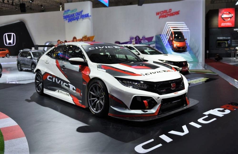 Penampakan Honda Civic TCR di GIIAS 2018