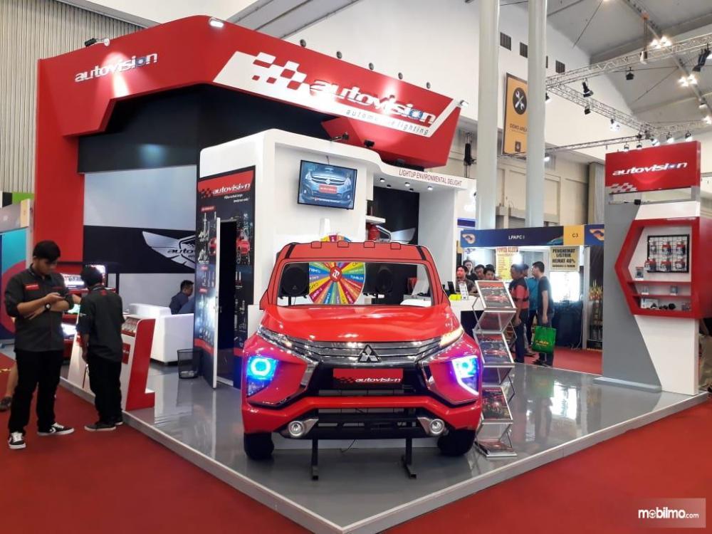 booth Autovision di ajang GIIAS 2018 yang berlokasi di hall 2 ICE
