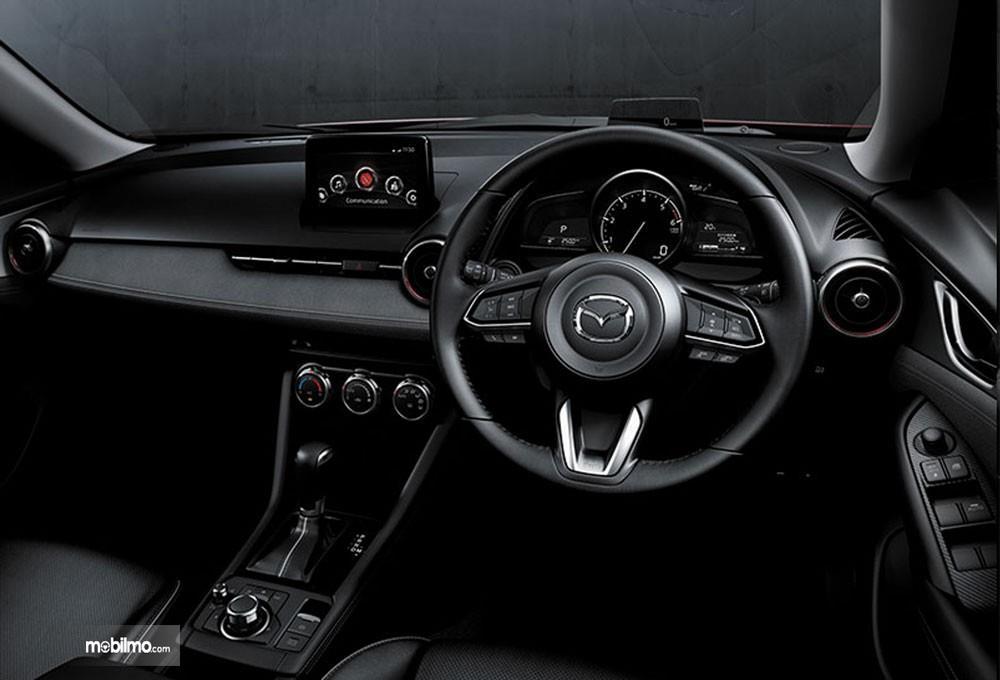 Dashboard Mazda New CX-3 2018 Memiliki Material Soft