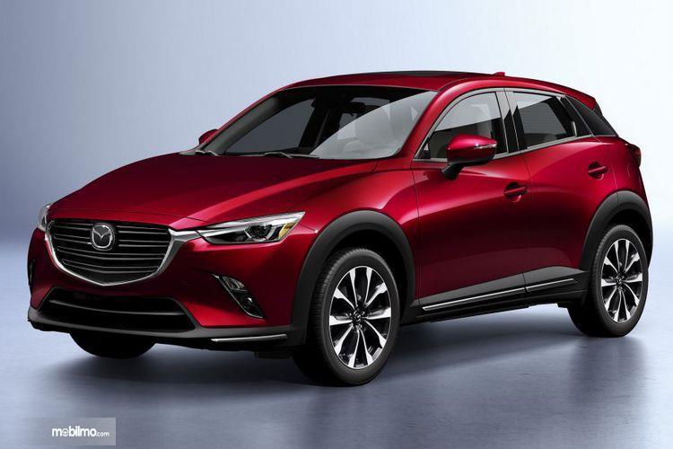 Bagain Depan Mazda New CX-3 2018 Menatap Dengan Tajam