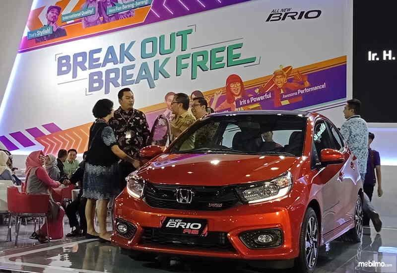 Foto All New Honda Brio RS di GIIAS Makassar