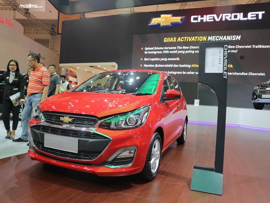 Chevrolet Spark 2018 yang diperkenalkan di ajang GIIAS 2018