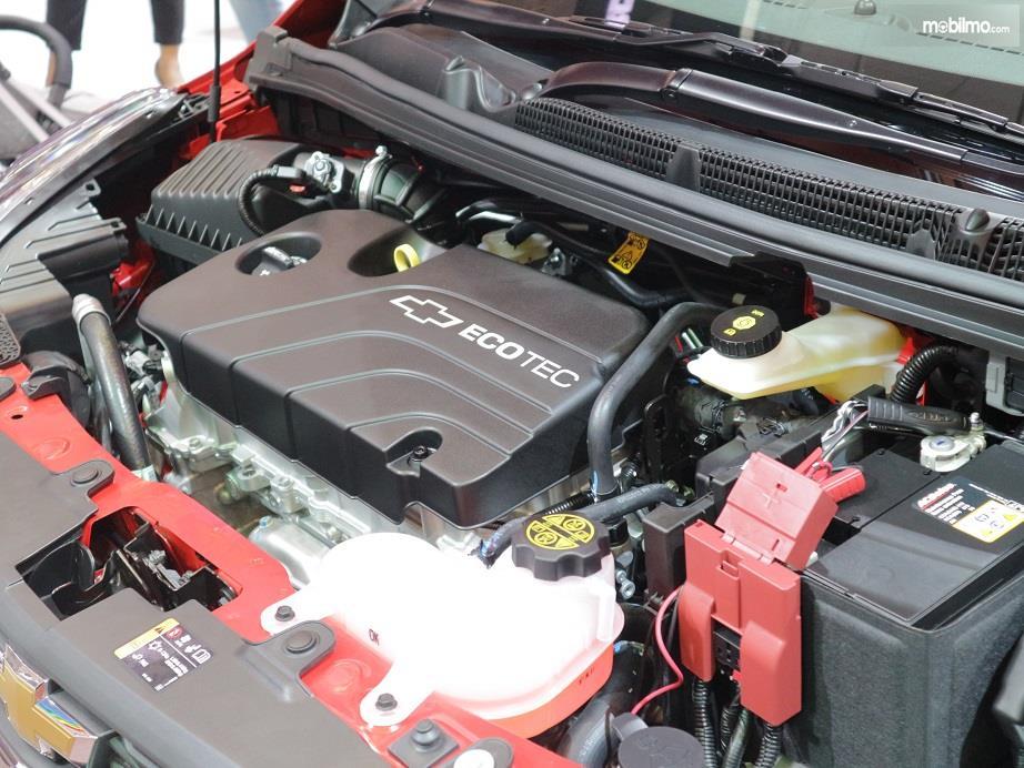bagian mesin Chevrolet Spark 2018 berkapasitas 1.399 cc