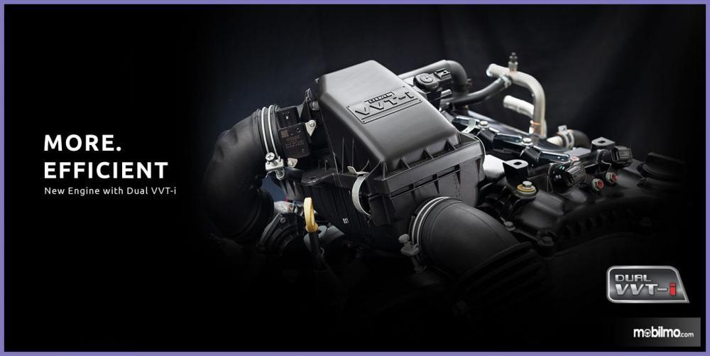 Daihatsu Xenia 2018 Memiliki Mesin 1NR-VE DOHC
