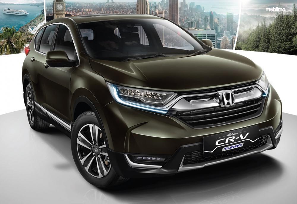 Foro All New Honda CR-V Turbo tampak dari depan samping