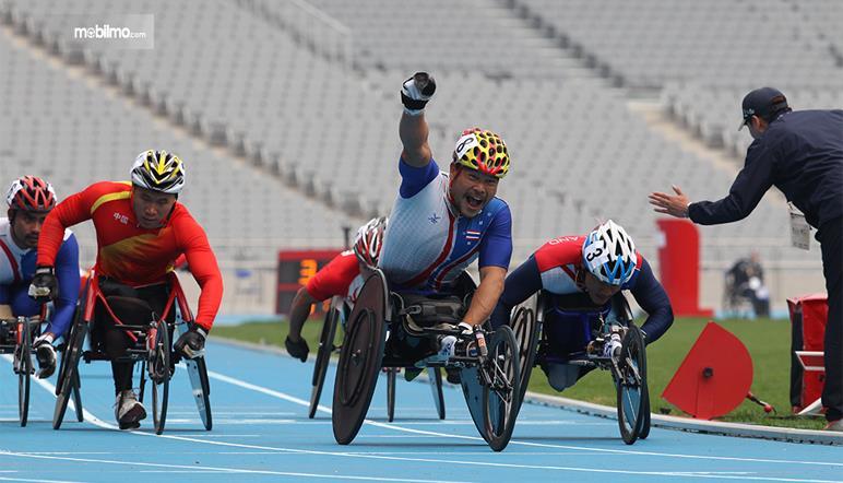 Gambar yang menunjukan ajang multi event Asian Para Games
