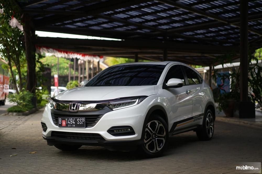 Tampak depan Honda New HR-V 1.5L E Special Edition