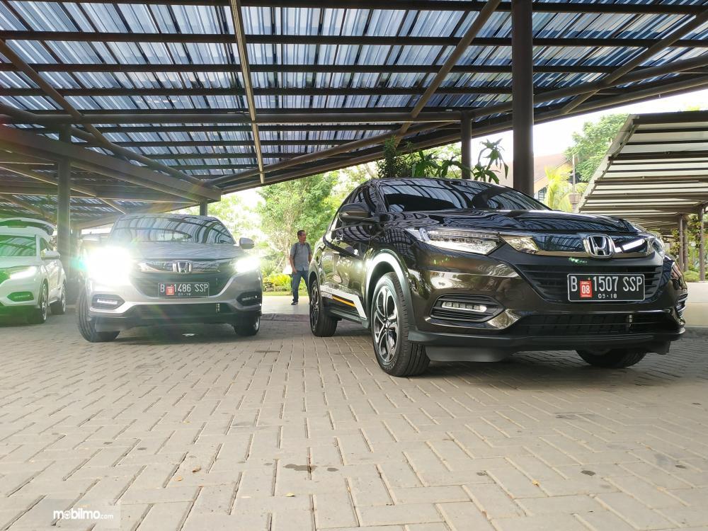Tampak dua Honda New HR-V 1.5L E Special Edition 2018