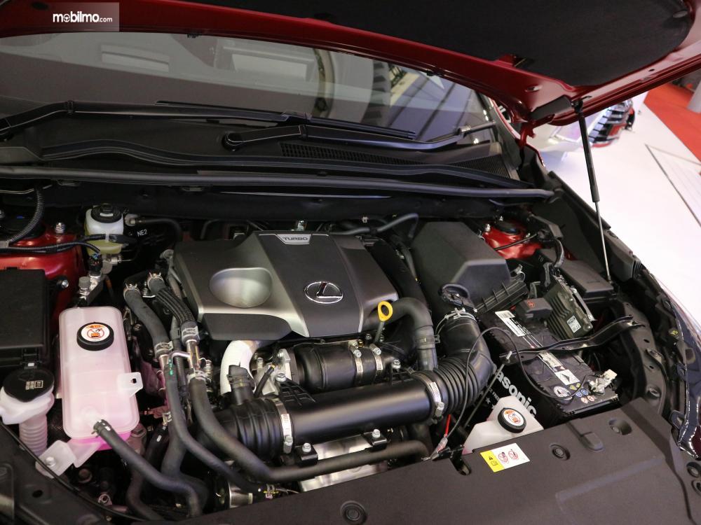 Mesin Lexus NX300T F-Sport 2018 dilengkapi dengan twin scroll turbo