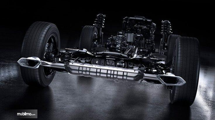 Adaptive Suspension System di Lexus NX300T F-Sport 2018