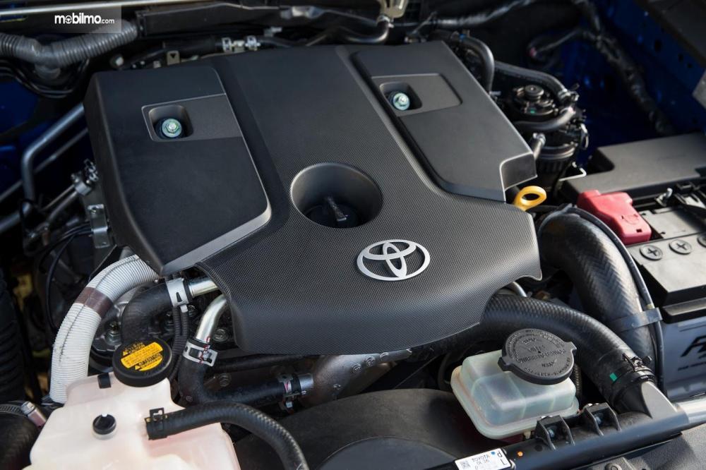 Tampak sebuah mesin 2GD-FTV pada Toyota New Hilux 2018