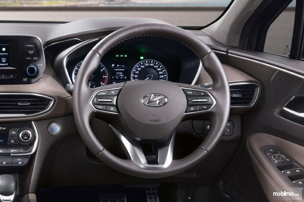 Gambar bagian setir mobil Hyundai Santa Fe 2018