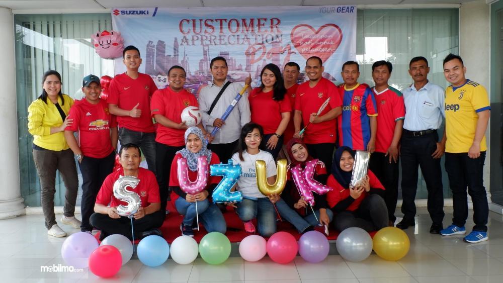 Apresiasi Suzuki terhadap pelanggan di Indonesia diwujudkan menjadi Suzuki SeptembERTIGA