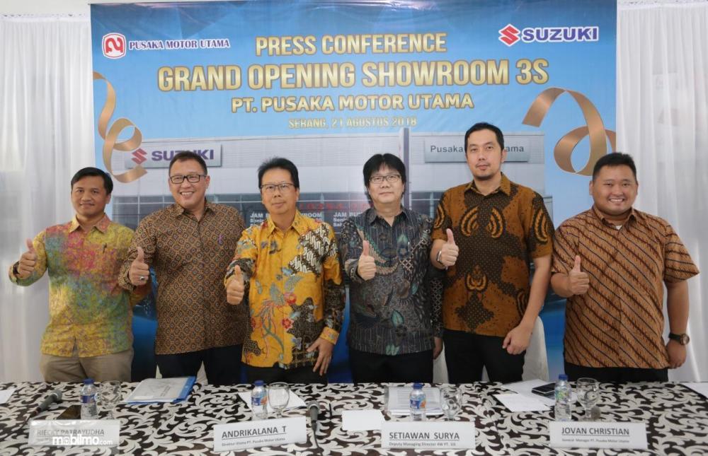 Perkuat jaringan Suzuki di wilayah Banten dan Serang Suzuki buka dealer 3S