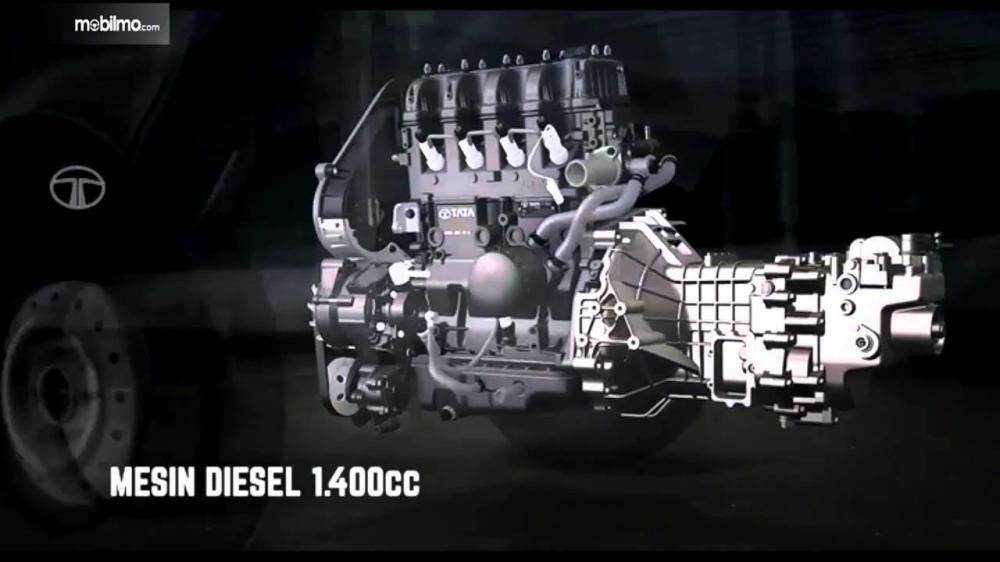 Tata Super Ace Diesel 2018 Dibekali Mesin TATA 475 IDI TCIC 1.400cc Turbo Charged Intercooled Diesel Engine
