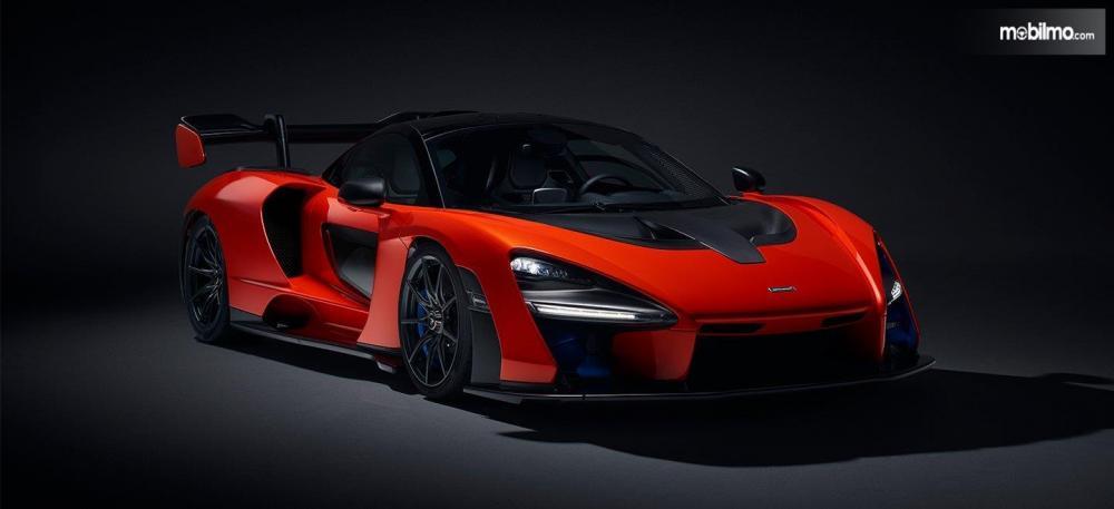 McLaren Senna 2018 Dengan Desain Aerodinamika Modern