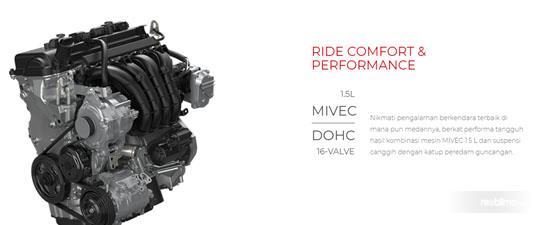 Mitsubishi Xpander Sport M/T 2018 Dibekali Mesin 4A91 1.5L MIVEC DOHC 16-Valve