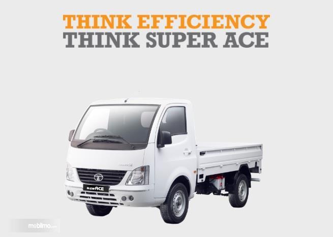 Tata Super Ace Diesel 2018 Dengan Bukaan Pintu Bak 3-way