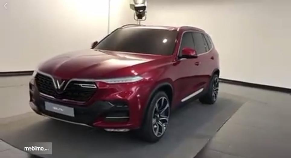 Tampak mobil konsep SUV 2019