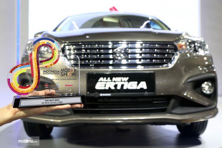 Suzuki Ertiga 2018 yang mendapat penghargaan IIMS Awards 2018