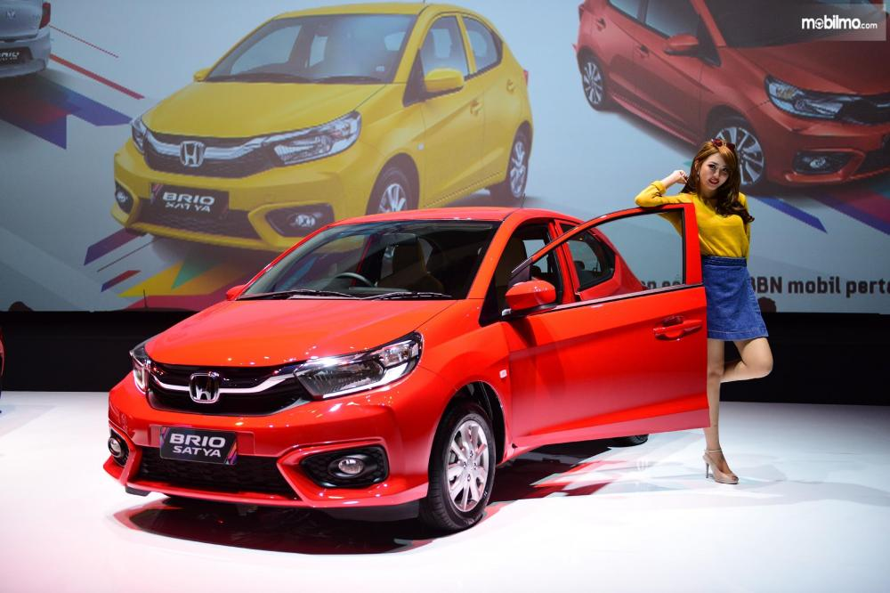 Tampak depan Honda All New Brio 2018