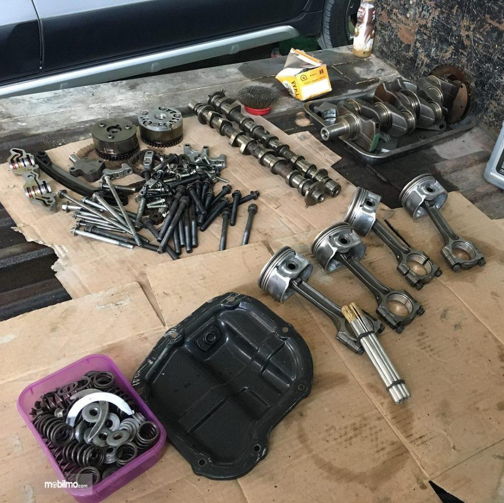 Komponen mesin HR15DE di Nissan Evalia