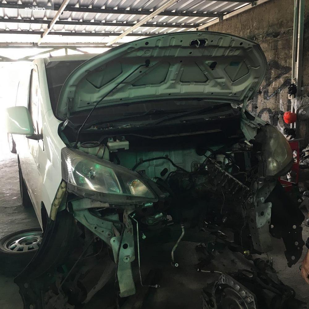 Nissan Evalia turun mesin