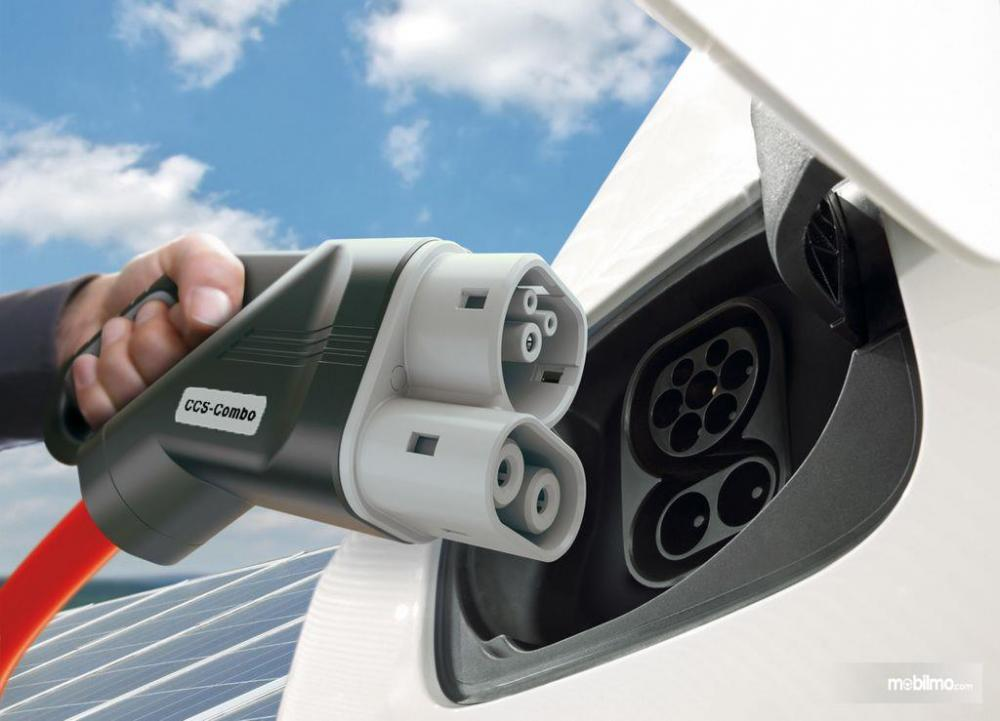 Gambar Charging Station kendaraan listrik