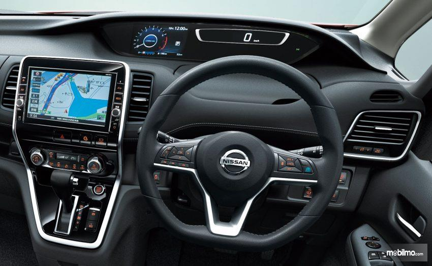 Nissan Serena 2018 Mendapat Dashboard Bertingkat Dan Modern