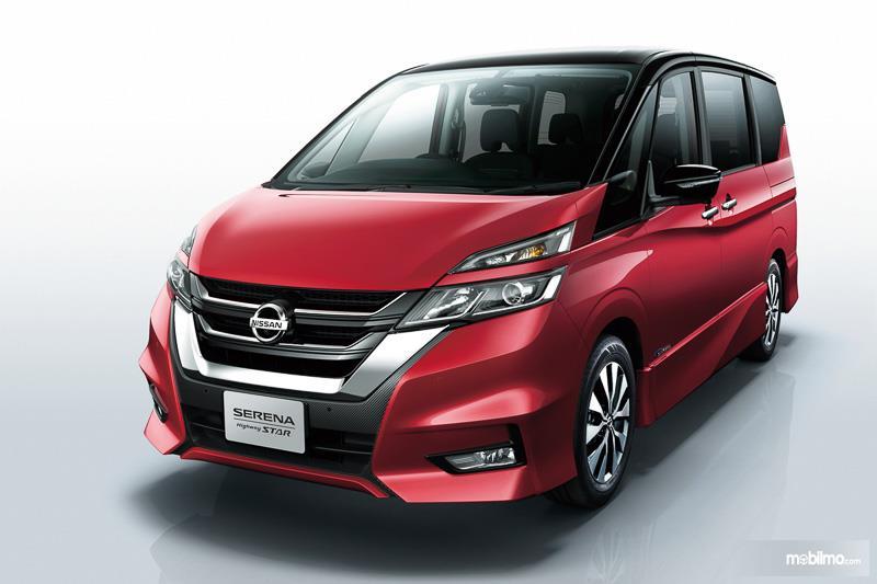 Nissan Serena 2018 C27 Mendapat Penampilan Bagian Depan Terbaru