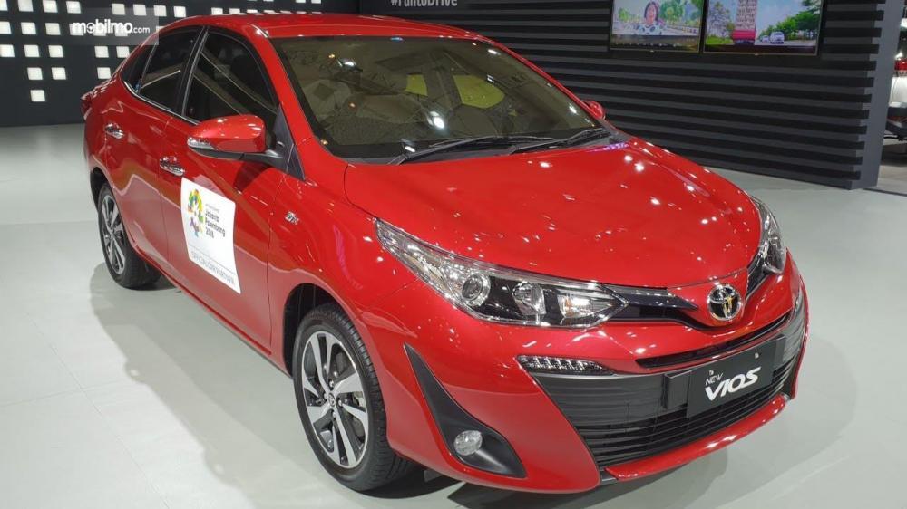 Toyota Vios 2018 tipe G yang dipamerkan di ajang GIIAS 2018