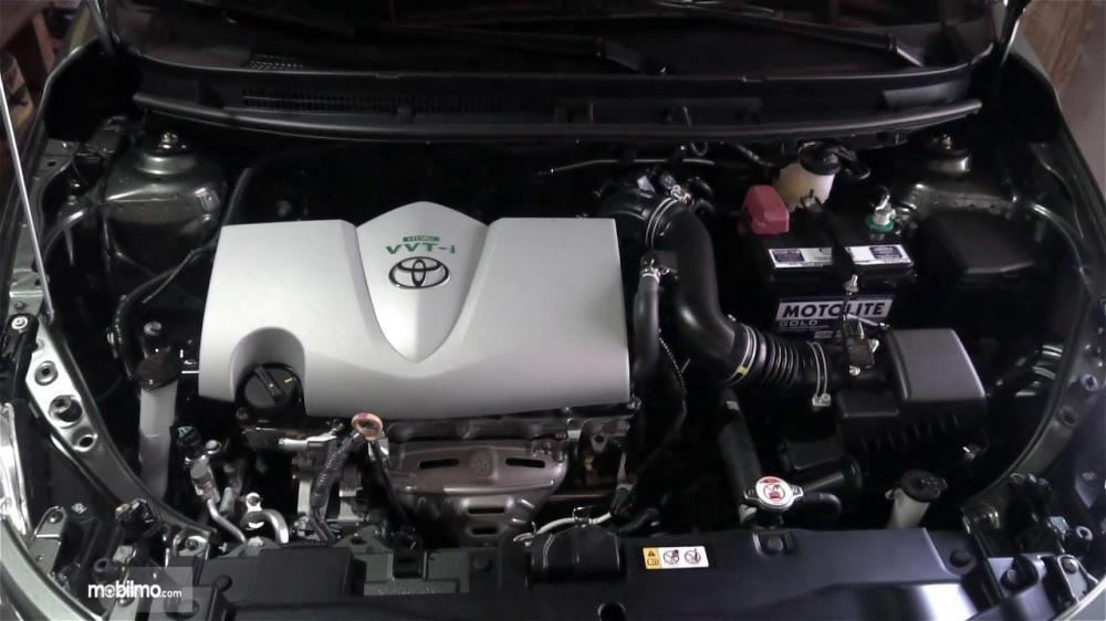 bagian mesin Toyota Vios G CVT 2018 berkapasitas 1.496 cc
