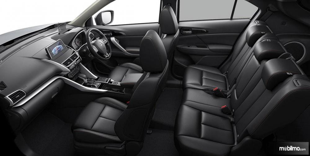 Tampak konfigurasi kursi pada Mitsubishi Eclipse Cross 2019