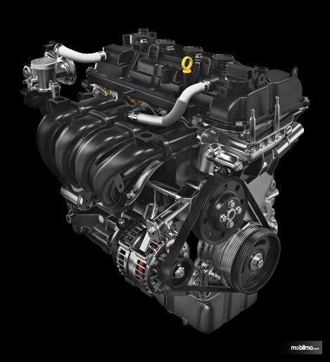 Tampak mesin mungil 1200 cc punya Suzuki Swift 2019