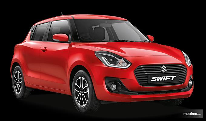 Tampak sebuah Suzuki Swift 2019