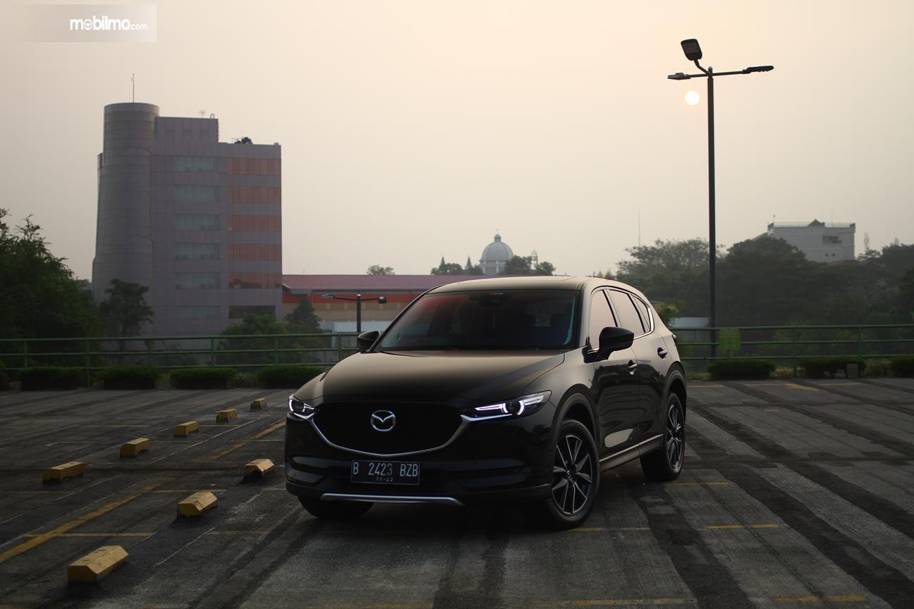 Gambar yang menunjukan All new Mazda CX-5 2018