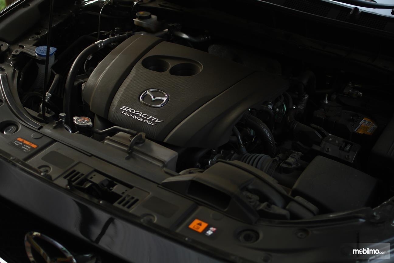 Gambar yang menunjukan mesin All New Mazda CX-5 2018
