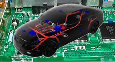 Tampak ECU mengendalikan seluruh fitur dan operasi dari mobil