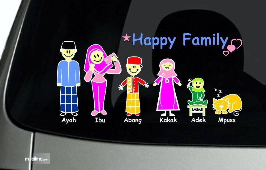 Hati Hati Stiker My Family Pada Mobil Bisa Dimanfaatkan Penjahat
