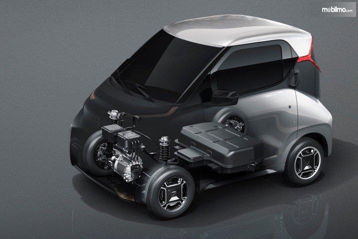 Preview Wuling E200 2018 Tidak Hanya Sekedar Mobil Listrik Mini
