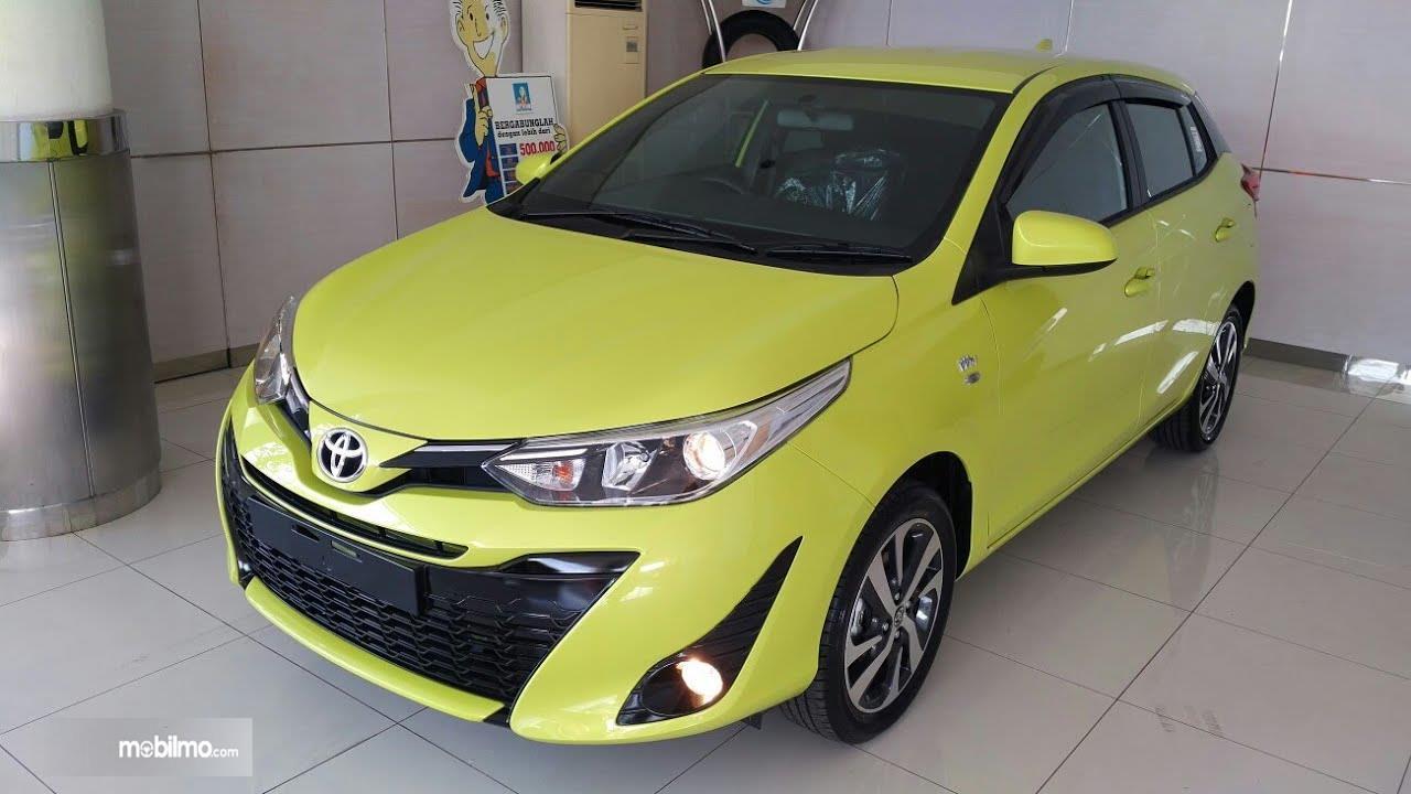 Gambar yang menunjukan Toyota New Yaris 1.5G A/T 2018