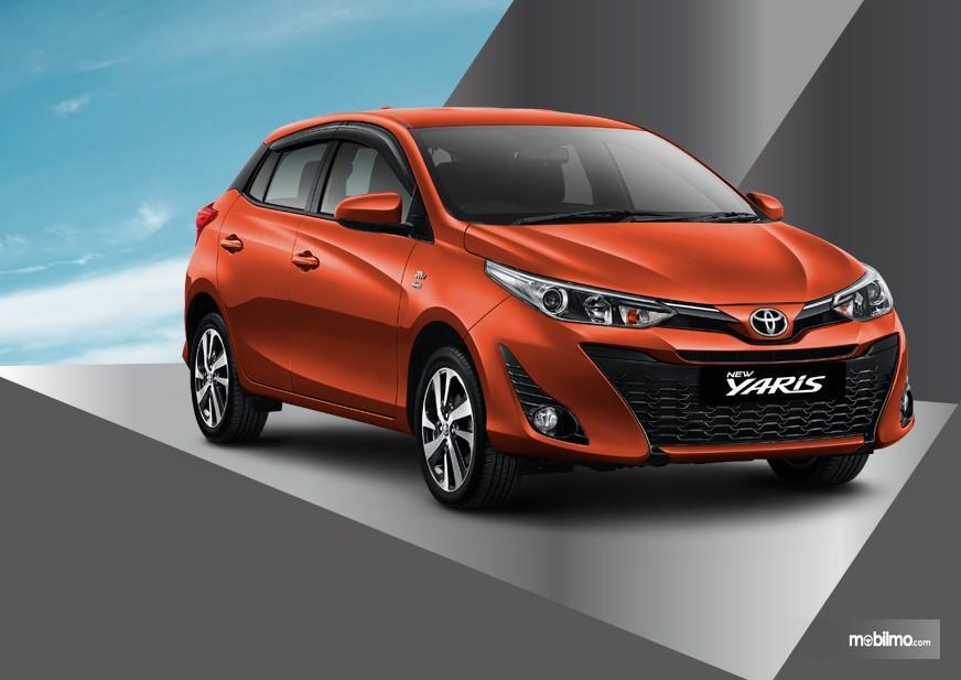 Gambar yang menunjukan warna baru Toyota New Yaris 1.5G A/T