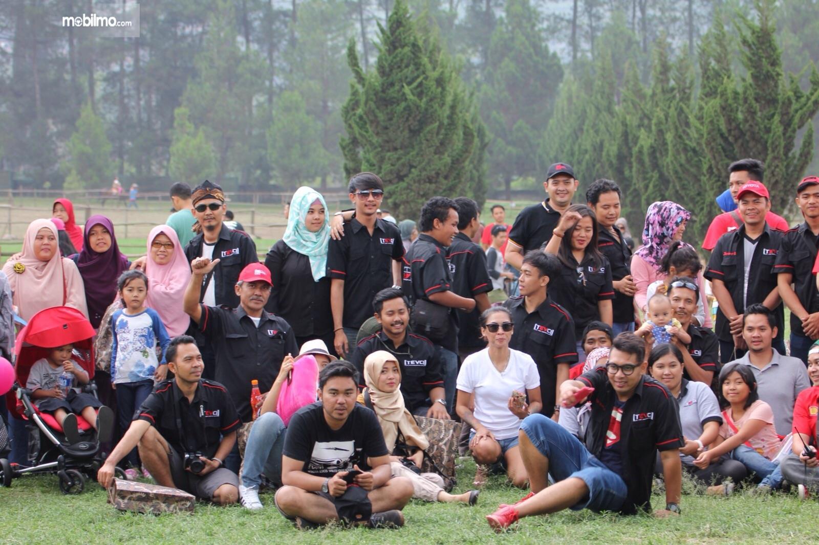 Foto Kopdar Komunitas TEVCI di Bandung Jawa Barat