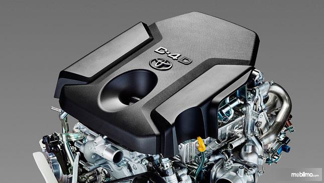 Gambar mesin 2.4 Liter 4 Silinder Segaris D-4D Turbo