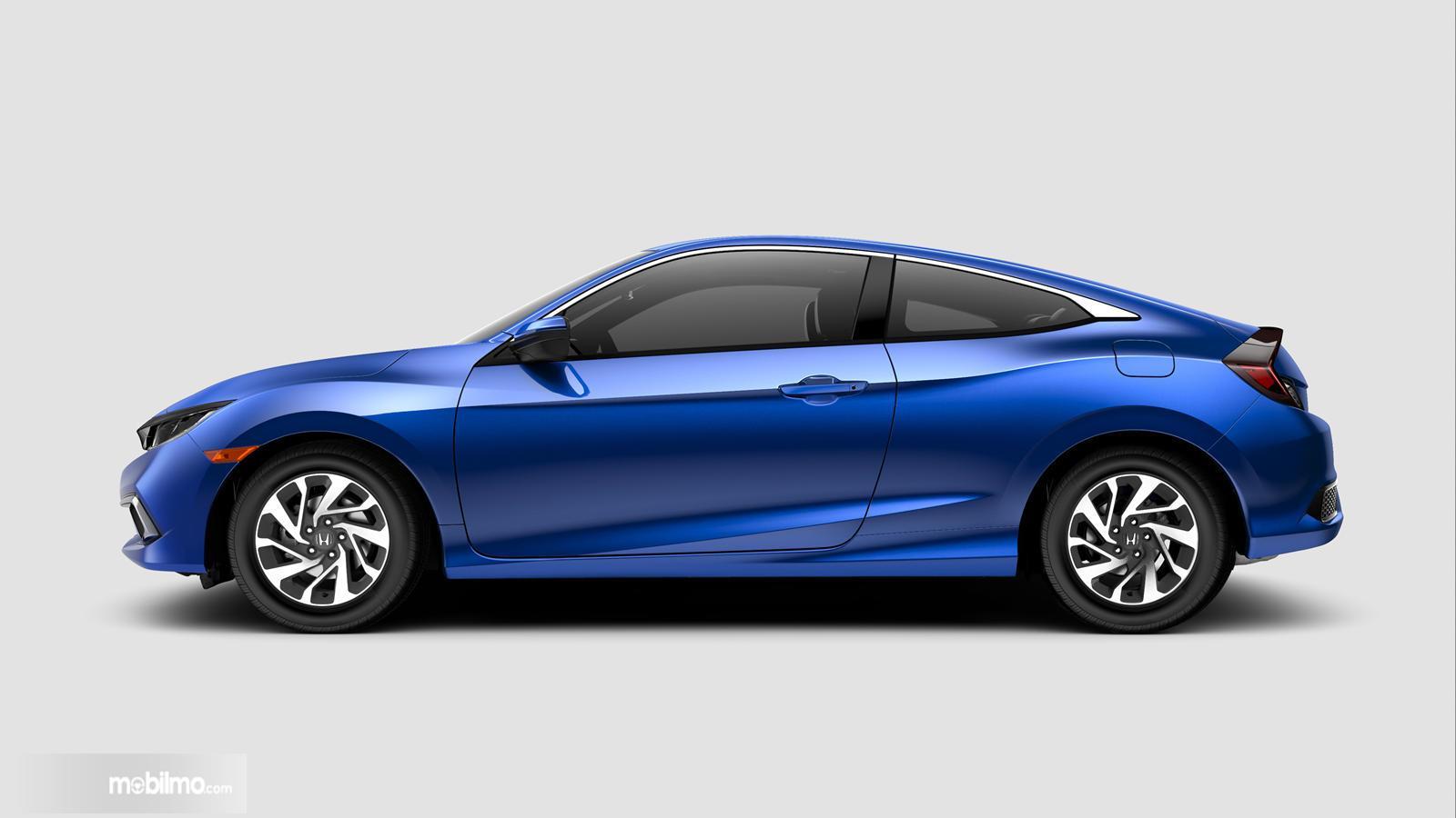 Gambar tampilan samping Honda Civic 2019