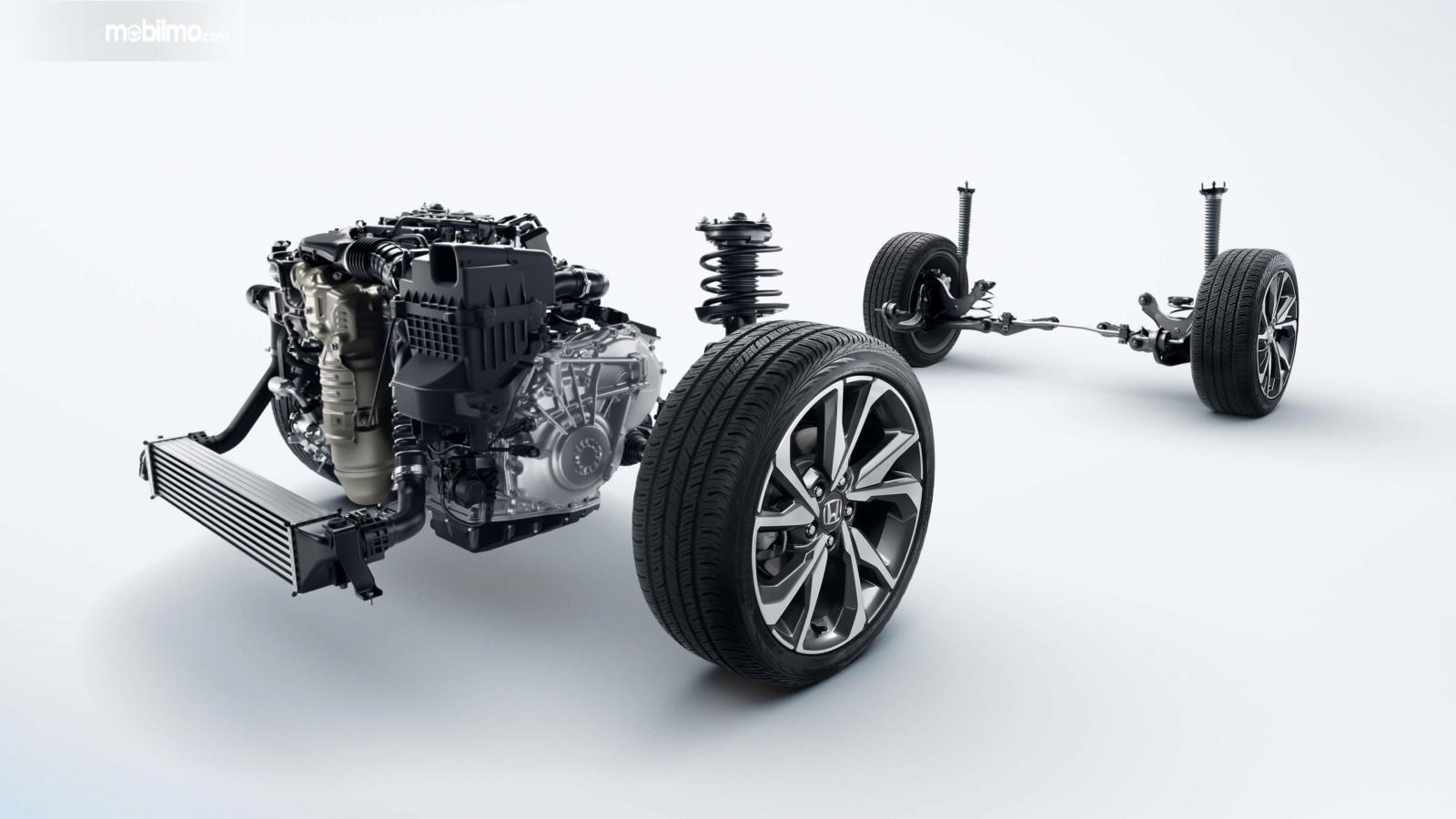 Gambar rangka Honda Civic 2019